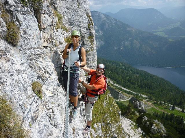 Klettersteig Loser : Loser klettersteig panorama sophie